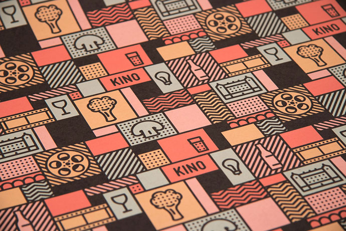 KINO - take away and pattern by Gustav Karlsson Thors