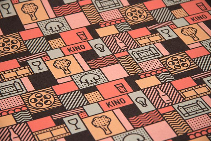 KINO - take away and pattern by Gustav Karlsson Thors