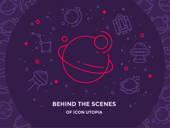 Behind the Scenes of Icon Utopia by Justas Galaburda