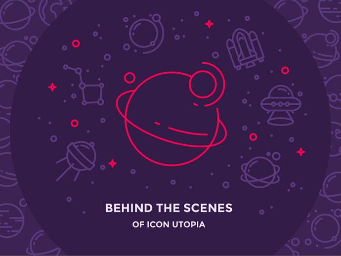 Behind the Scenes of Icon Utopia by Justas Galaburda