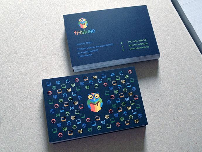 Triskele Biz Cards by Jonas