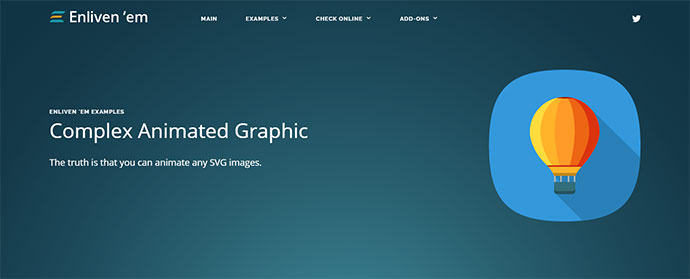 Animation Engine for Vector Graphic