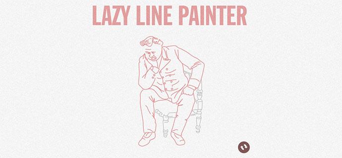 lazy line painter