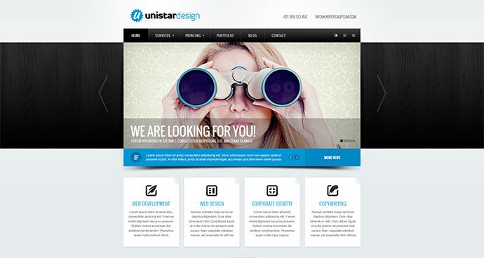 Unistar | Multipurpose Responsive Joomla template