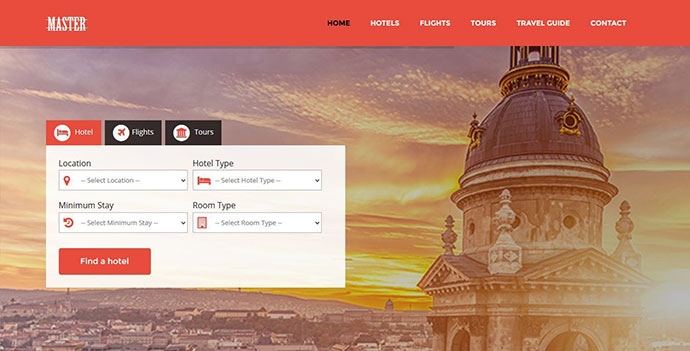 Master - Ultimate Travel Theme for Joomla
