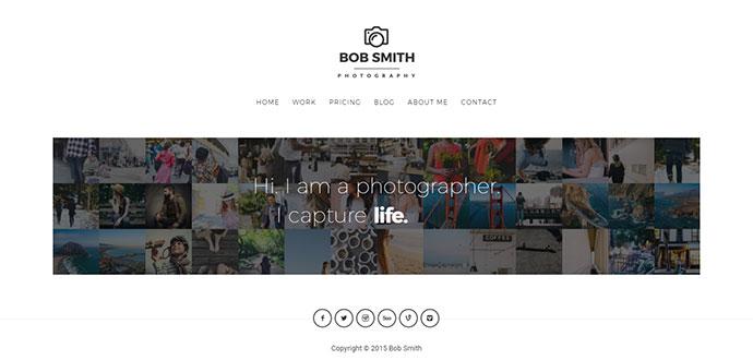 Photographer - A WordPress Theme For Photographers