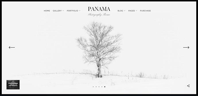 Photography Portfolio Theme