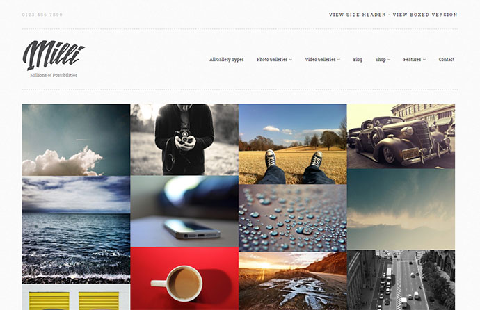 The Ultimate Photo Gallery WordPress Theme