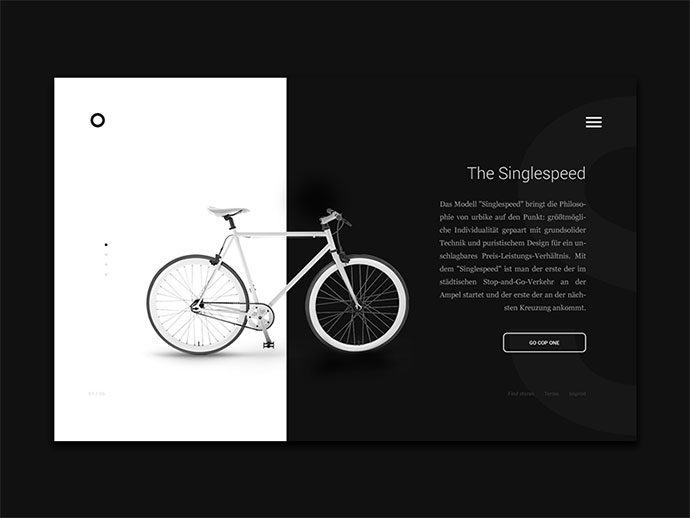 Landing Page by Niclas Ernst