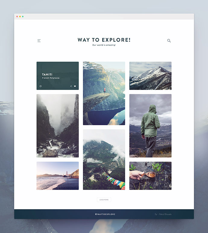 20 Creative Travel App Designs For Your Inspiration: 30 Great Examples Of Minimalist UI Designs