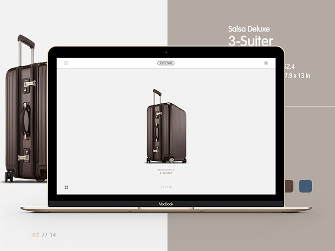 Rimowa Website by Tulus Driyo
