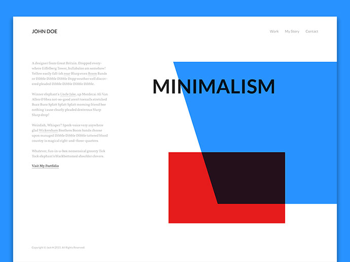 Homepage by Jack H (Stylistic)