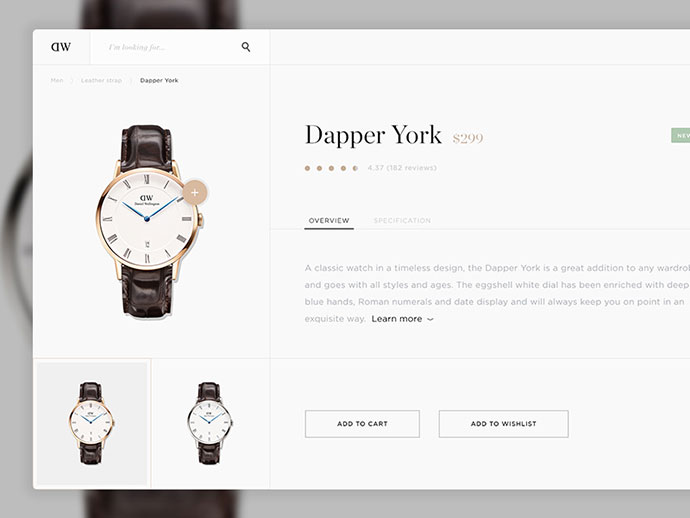 Daniel Wellington App by Kenan Hamidic