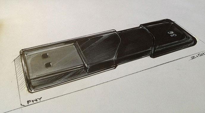 Sketch Unplug/ Product Design Sketch by Zion Hsieh