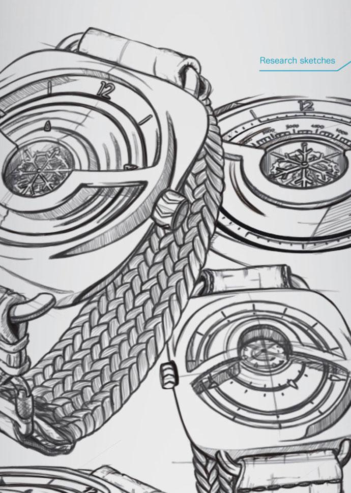 EDELWEISS - watch concept by Arnaud Biju-Duval
