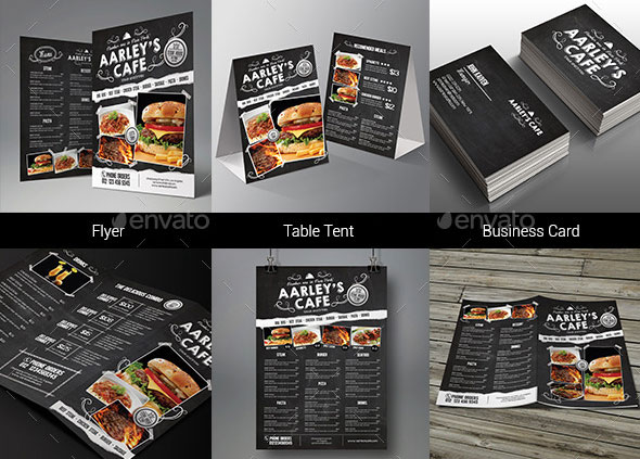 Effective Psd Restaurant Menu Design Templates  Web  Graphic