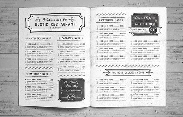 40 effective psd restaurant menu design templates web graphic