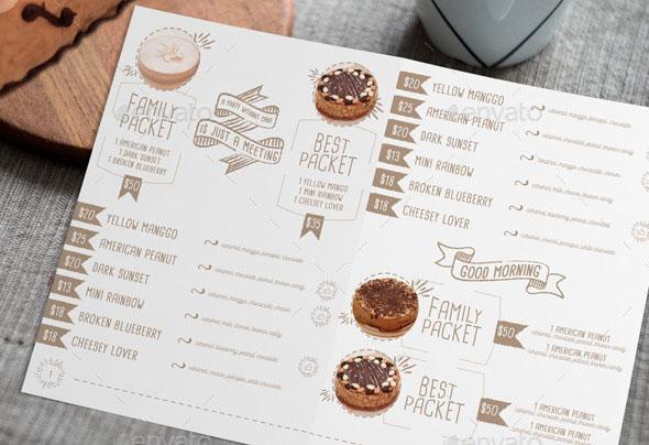 40 Effective Psd Restaurant Menu Design Templates Bashooka