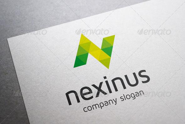 Nexinus N Letter Logo