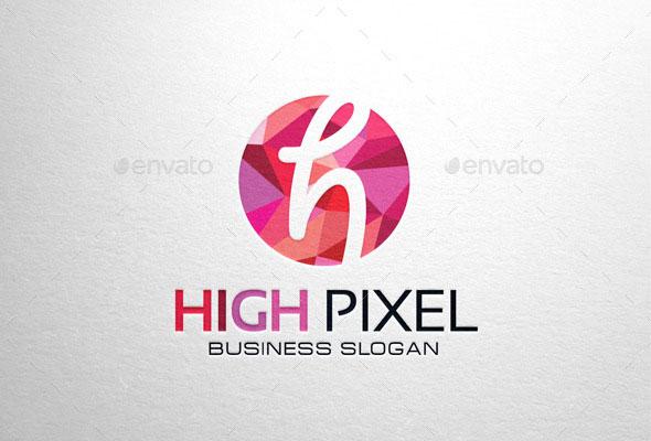 High Pixel, Letter H Logo