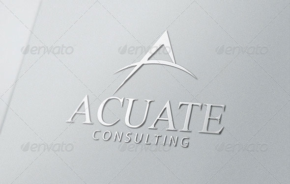 Letter A Logo Template - Business or Financial