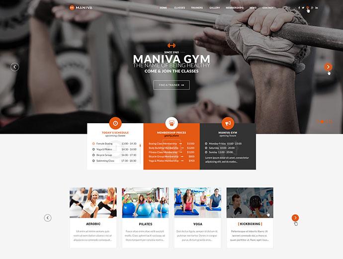 Gym Fitness Yoga