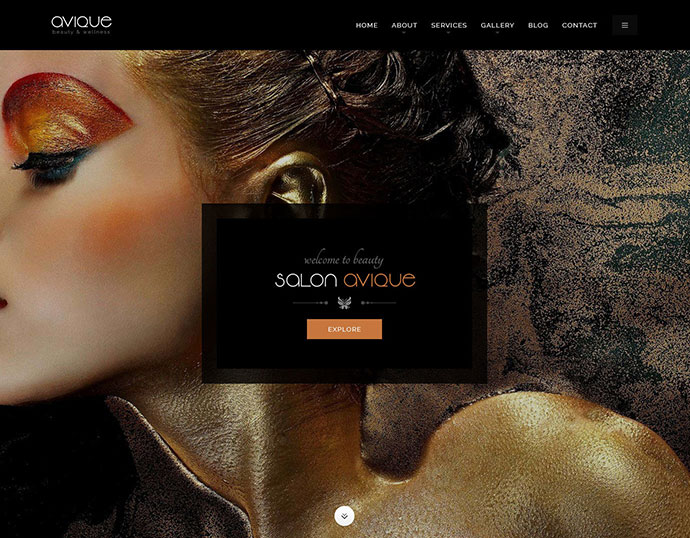 Avique | Barbershop, Spa, Beauty, Manicure WP