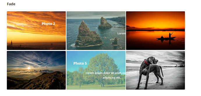 Hover Effects Pack - WordPress Plugin