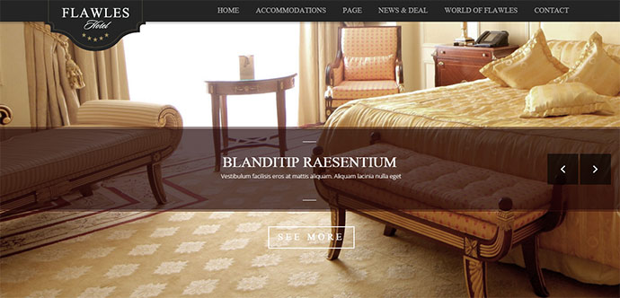 Online Hotel Booking Theme
