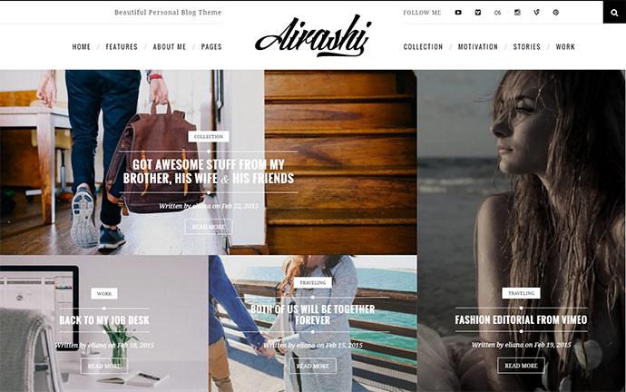 Clean Personal WordPress Blog Theme