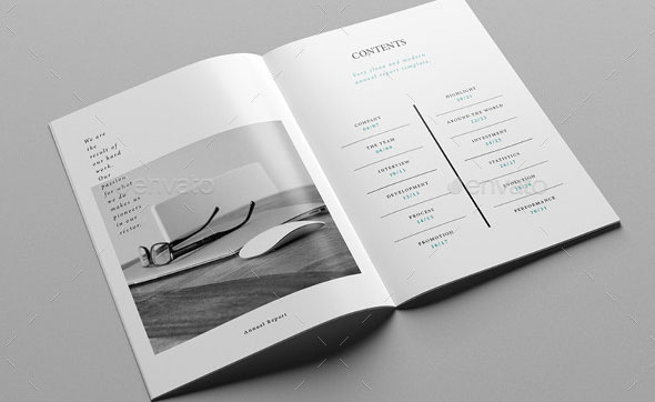 40 best corporate indesign annual report templates  u2013 bashooka