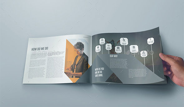 40 best corporate indesign annual report templates web graphic