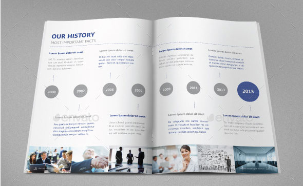 40 best corporate indesign annual report templates web graphic download business annual reportbrochure template cheaphphosting