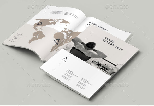 Corporate Business Annual Report