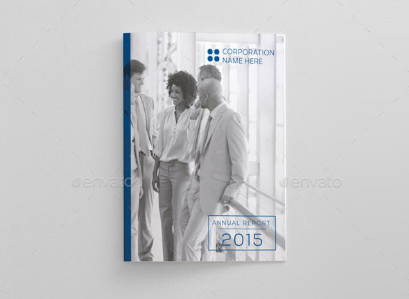 Corporate A4 / Letter Annual Report