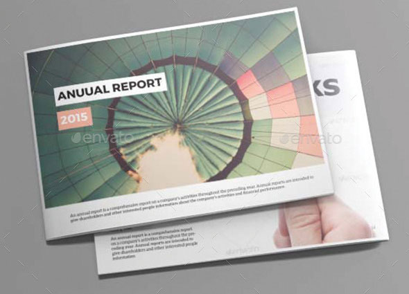 40 best corporate indesign annual report templates