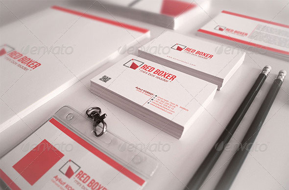 Red Boxer Corporate Identity