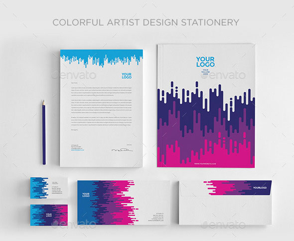 20 Remarkable Branding Identity Design Templates – Stationery Templates for Designers