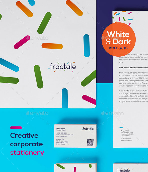 Fractale Stationery