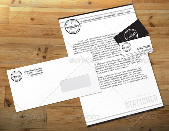 The Stationer Branding Kit