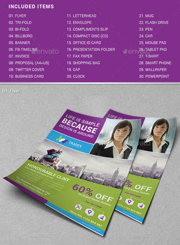Tradex Branding Identity Pack