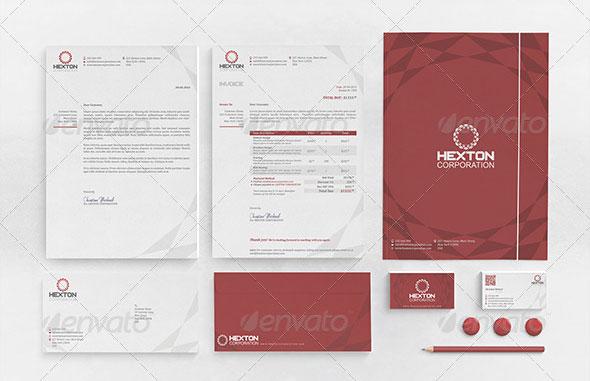 Corporate Brand Identity : Hexton Corporation