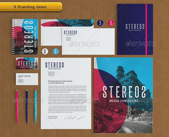 Stereos Vector Branding Print Pack