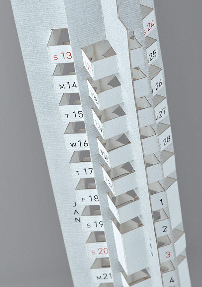 Skyscraper Calendar by Multiple Owners