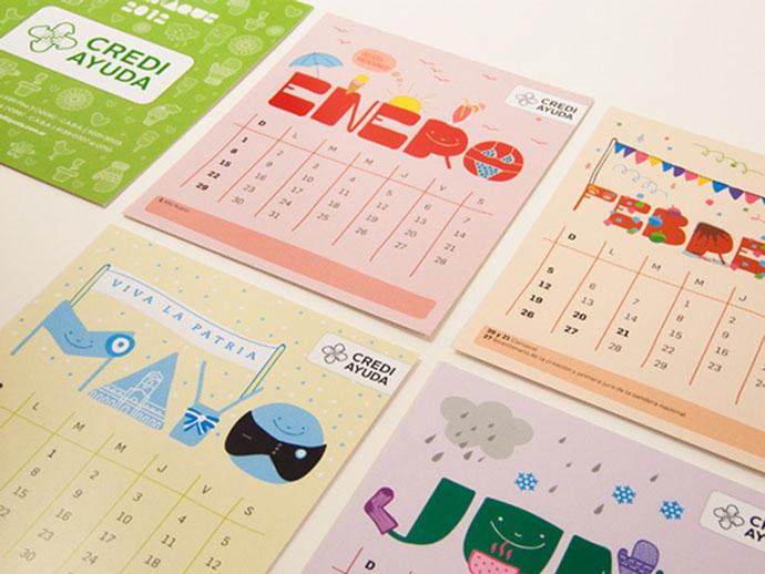 calendar | crediayuda by thecheco
