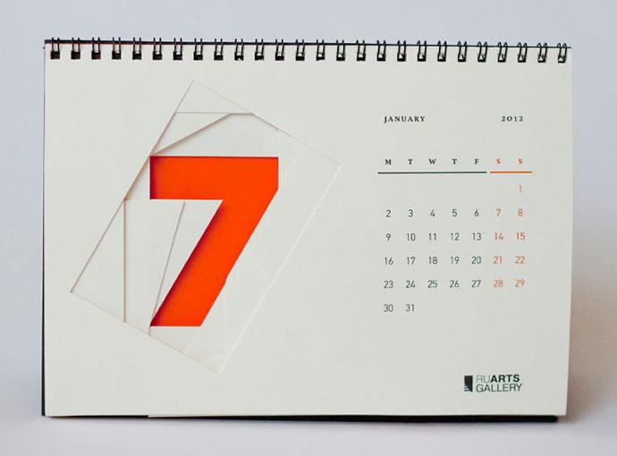 RuArts gallery calendar by Marina Dobraya