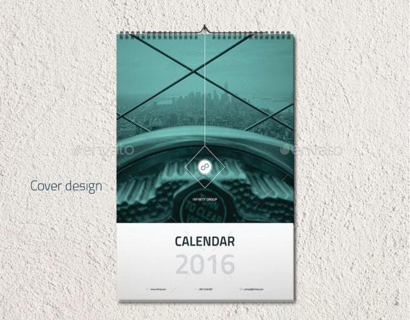 Clean & Minimal Calendar template