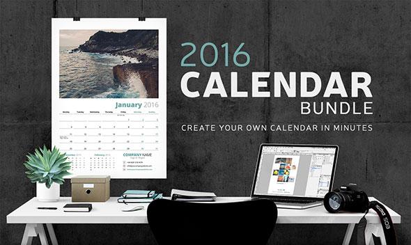 Calendar Bundle - 2016