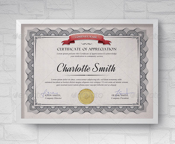 35 Best Certificate Template Designs Web Graphic Design Bashooka