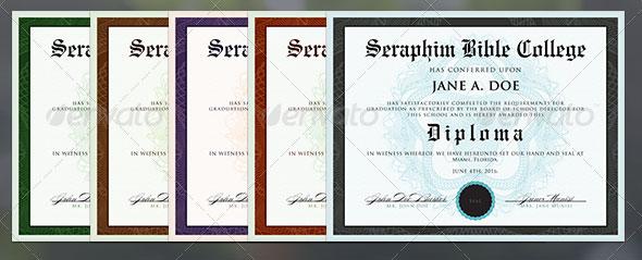 Certificate Template 1